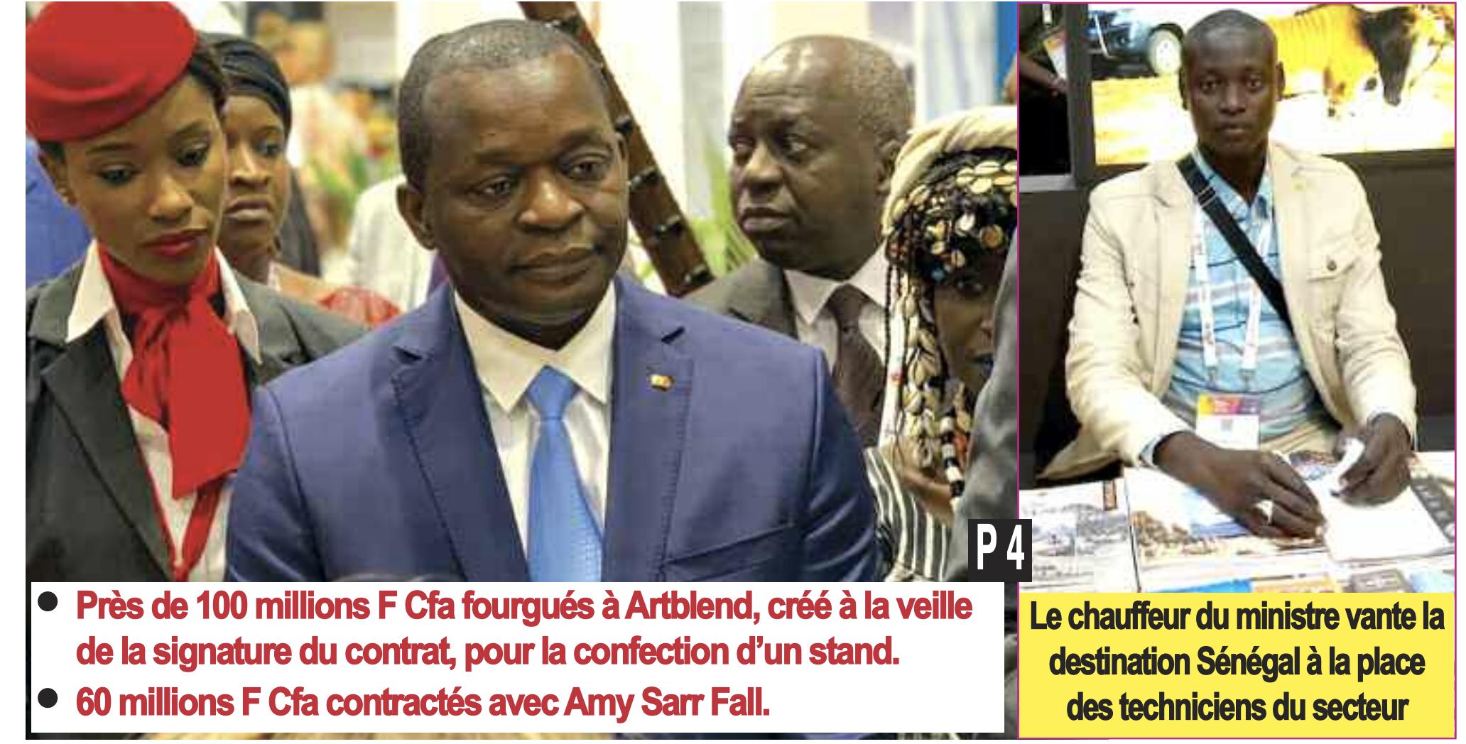 La bamboula d'Alioune Sarr à Paris... ( Journal Kritik Hebdo )