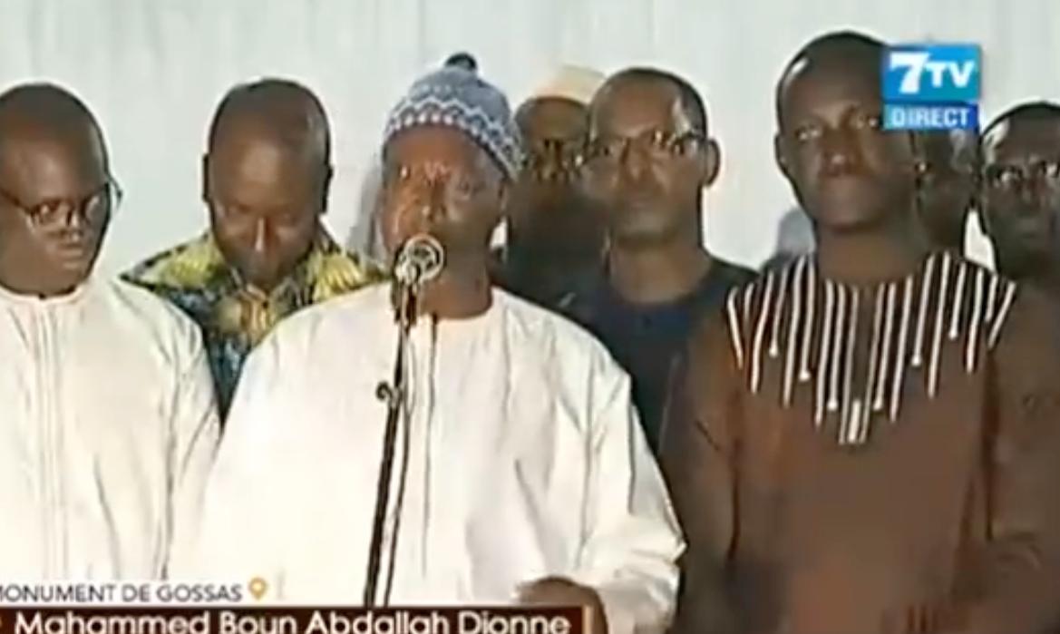 """VIDEO - Mahammed Dionne répond à Pape Alé Niang: """"Il n'y a aucun scandale..."""""""