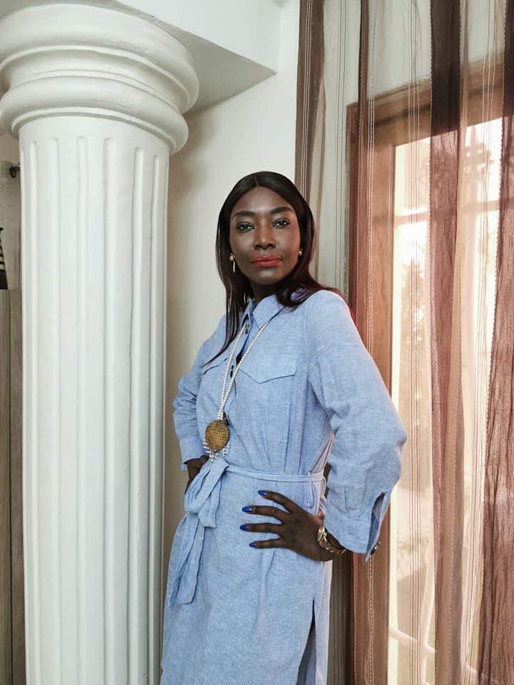Sublime et radieuse, Coumba Gawlo séduit les internautes avec son habillement