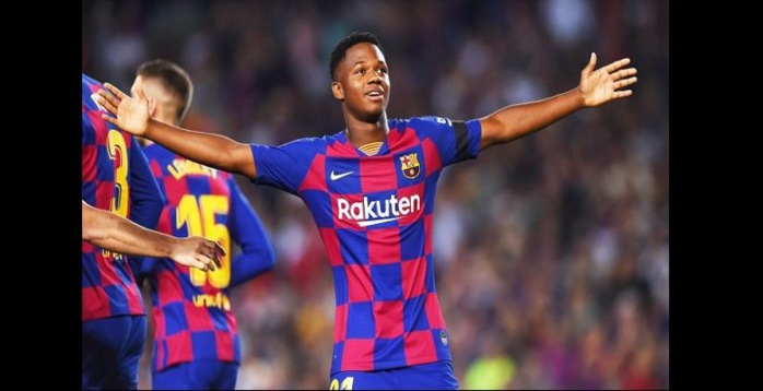 Barcelone : Ansu Fati inscrit un nouveau record en Liga
