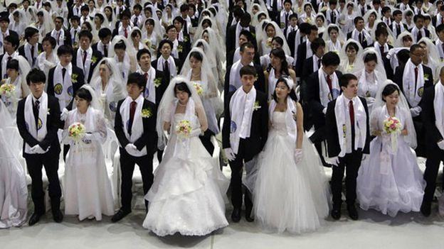 Séoul: 6000 jeunes couples mariés ce vendredi