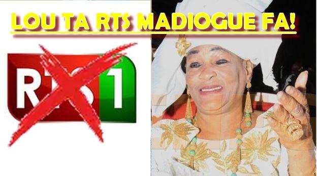VIDÉO: Les révélations de la comédienne Néné Komé, le jour où on m'a renvoyé à la RTS1.... REGARDEZ SA RÉACTION