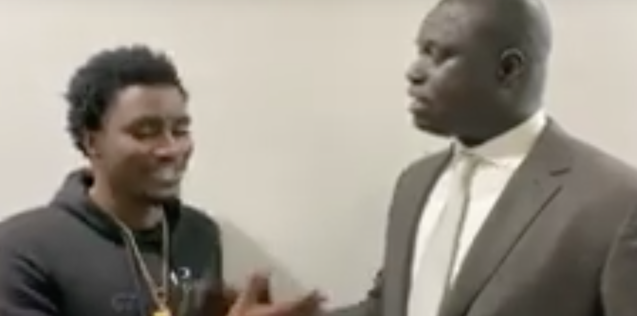 CHICAGO: Waly Seck rencontre le President de Nba Africa Amadou Galo Fall