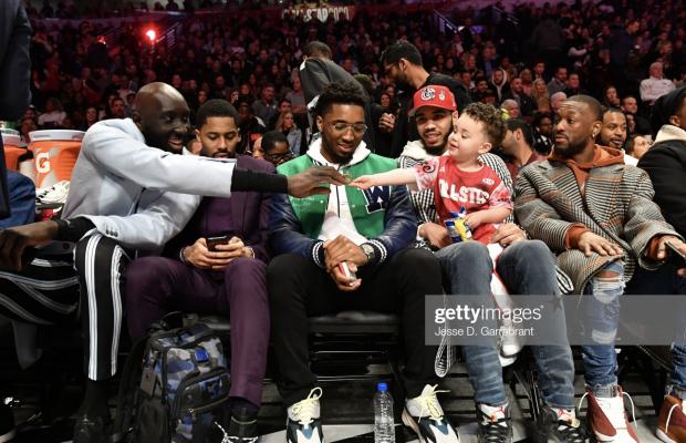 CHICAGO NBA DUNK CONTEST: Tacko Fall encore sous les projecteurs, même sans maillot