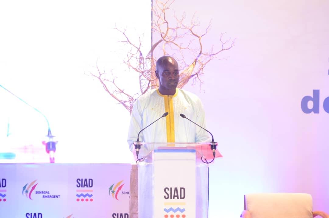Cérémonie d'ouverture du SIAD, discours du pdt national des chambres de métier et du représentant Turque invité d'honneur .
