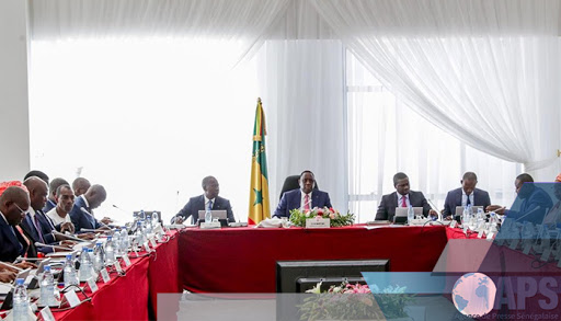 Covid19 / Le président Macky Sall préside deux fois par semaine un conseil national de sécurité sur les dimensions et implications de la gestion de la pandémie.