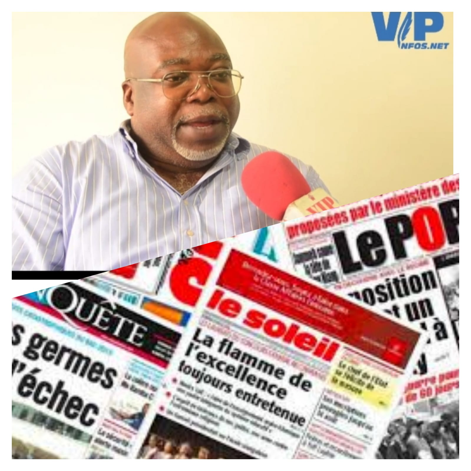 Affaires du manager de Viviane Djidiak,Diop Iseg et Dieyna, Moustapha Goudiaby Pdt des manager dénonce l'ingratitude de certains groupes de presse de ne pas le soutenir
