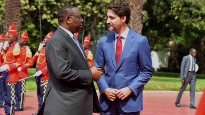 Exclusif – Audience téléphonique Justin Trudeau et Macky Sall :Ce que les deux dirigeants se sont dit