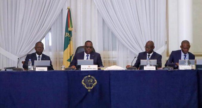 Nomination du conseil des ministres du Mercredi 1er Avril 2020