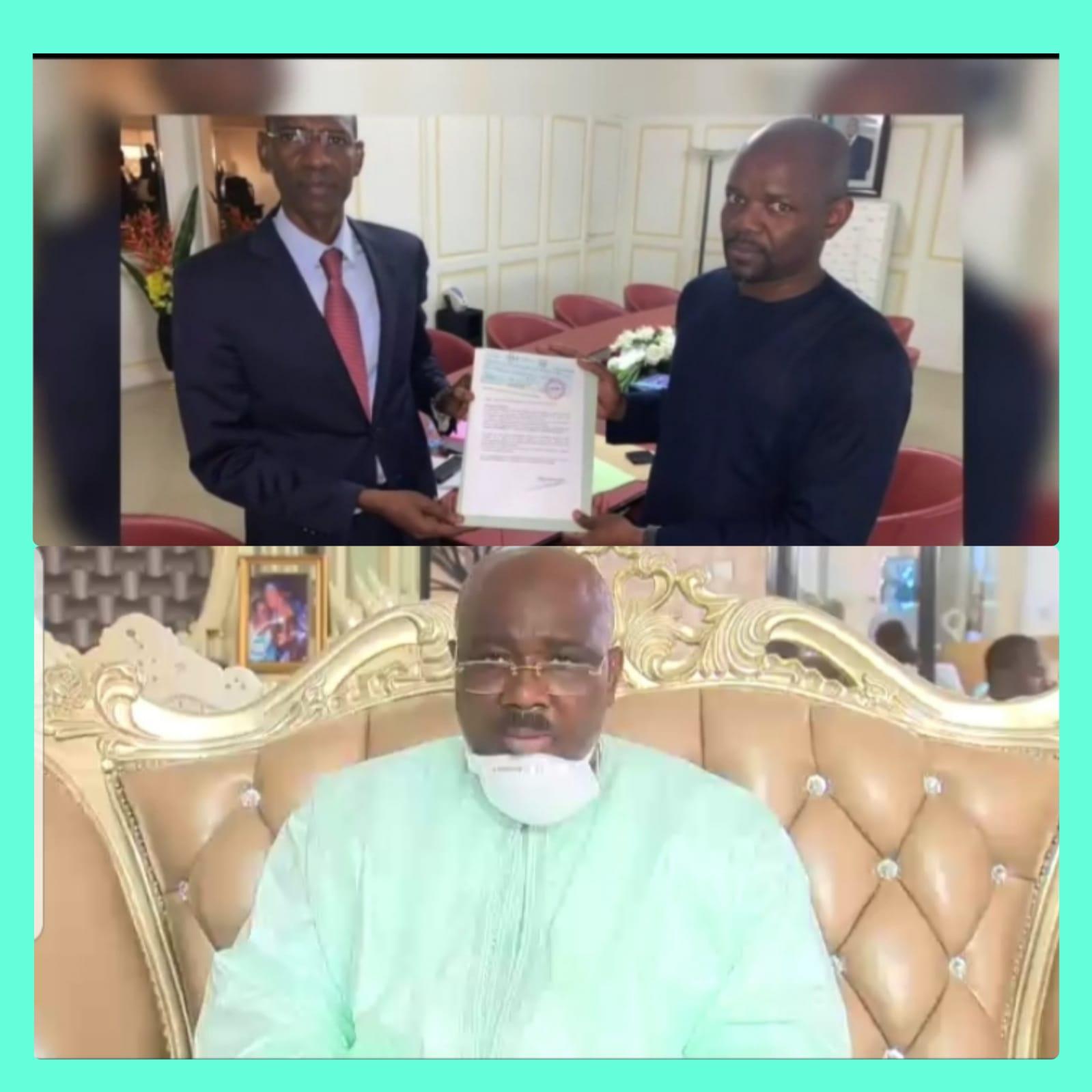 VIDÉO: Le député et griot de Macky, Farba Ngom lance un message fort à l'égard du geste de Tahirou Sarr avec 1 milliard