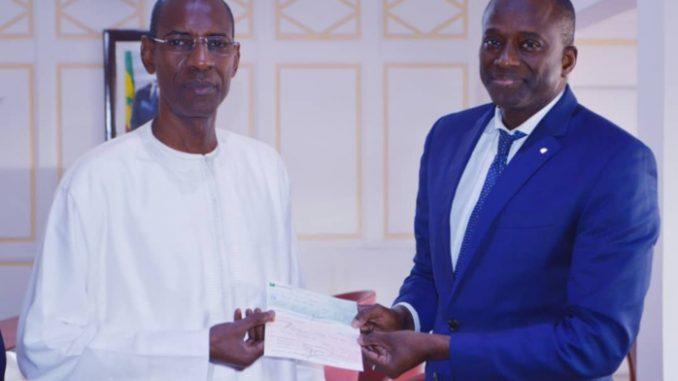 COVID-19 : Le Port Autonome de Dakar a remis sa contribution d'un milliard de Franc CFA.