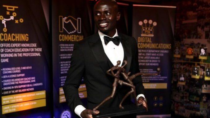 Premier League : Sadio Mané élu meilleur joueur de la saison