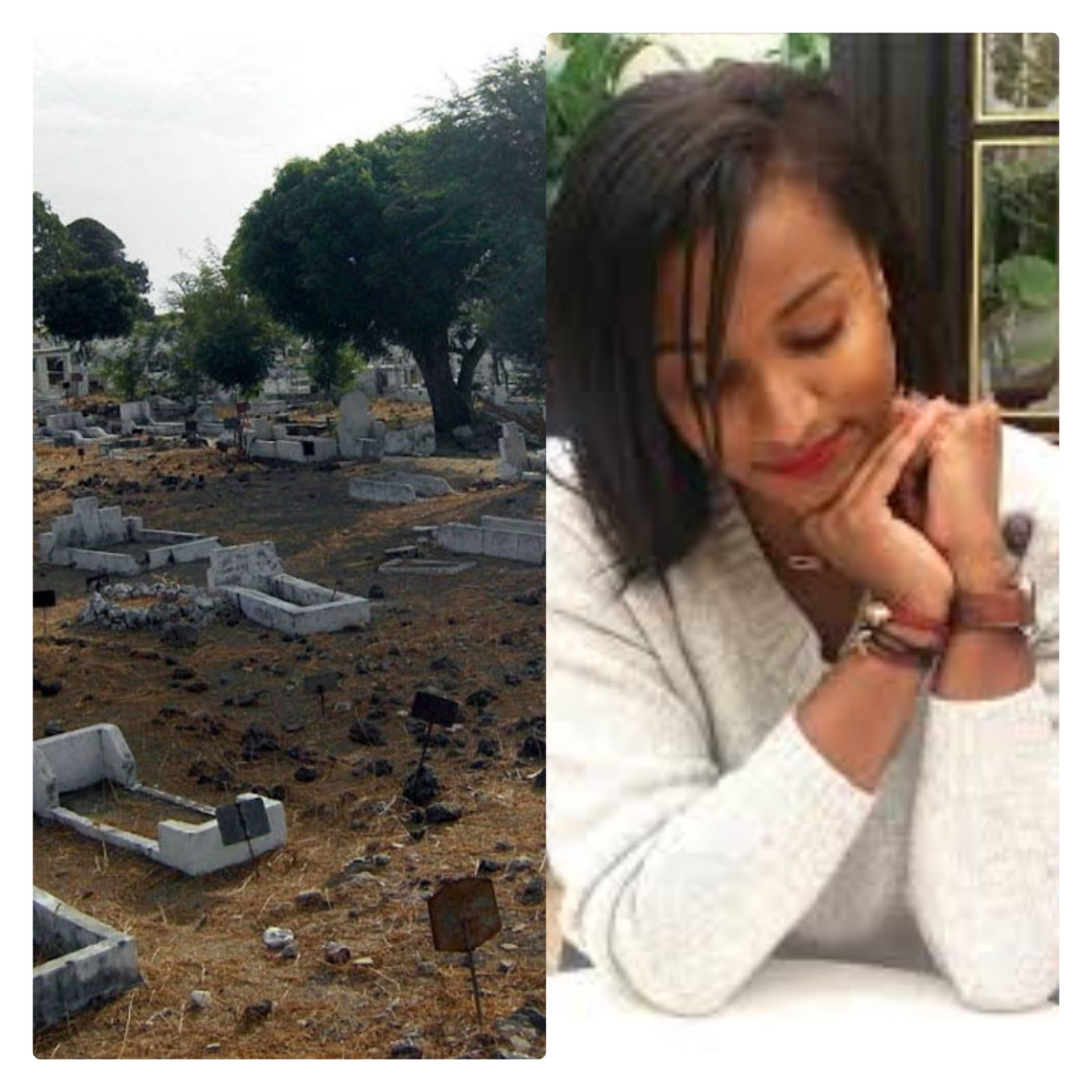 VIDÉO EXCLUSIF: Désormais Hiba Thiam repose dans son dernier demeure cet après midi.