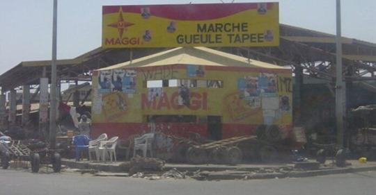 Dernière minute : Le marché de Gueule Tapée fermé (document)