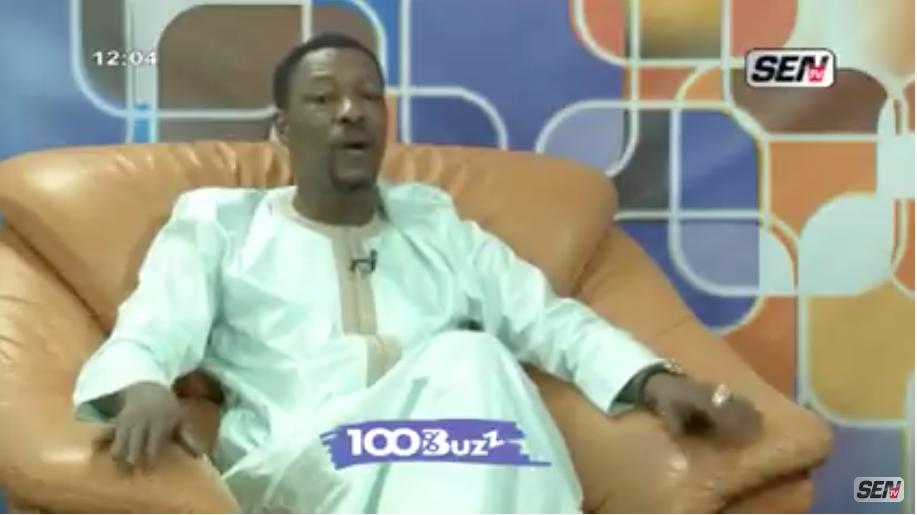 Les révélations de Tange Tandian sur l'affaire Hiba thiam dans 100 % BUZZ