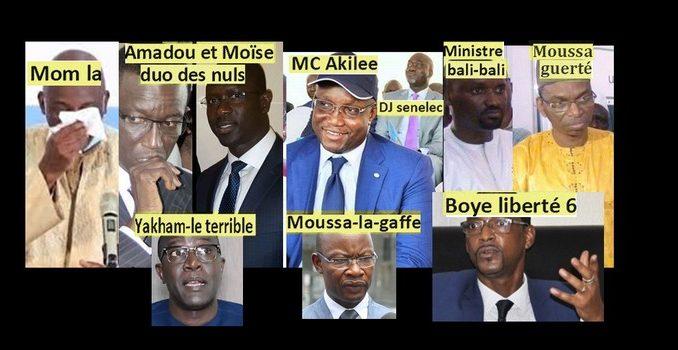 Sénégal contre Le Covid-19 : La Corona-incompétence de ministres et directeurs généraux
