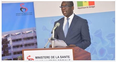 DIRECT. Suivez le point de situation sur la Covid-19 au Sénégal du 28 avril (Ministère de la Santé)