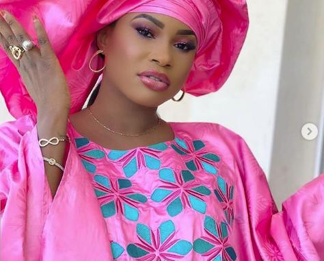 L'actrice Marichou en mode jongama débute le Ramadan en pleine forme