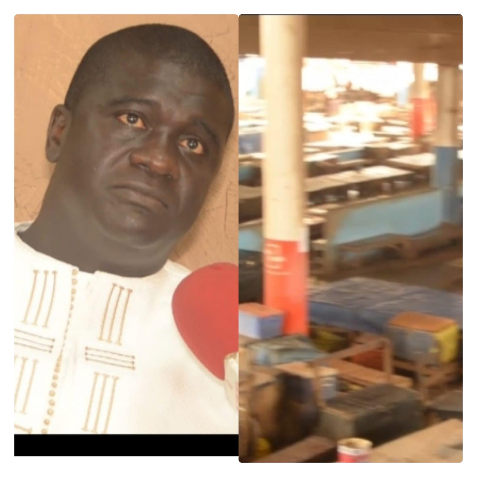 C0vid19:Abou Mbaye DG du marché au poisson prend des mesures fermes pour ceux qui ne respectent