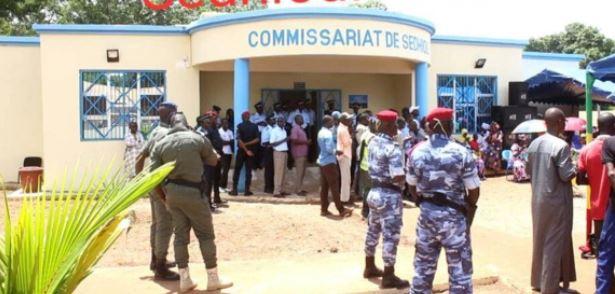 Sedhiou : Le Commissariat urbain de la Police centrale de Sédhiou change de patron