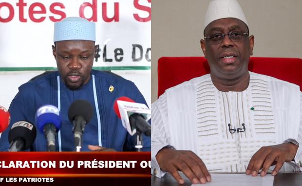 le clash d'Ousmane Sonko qui s'en prend à Macky Sall: « Lou Emmanuel Macron Déff Mou Déffko