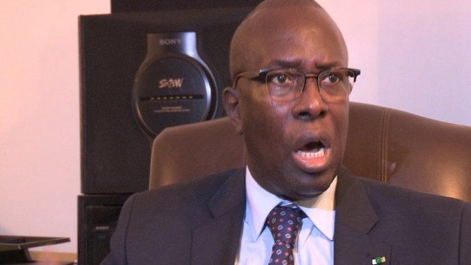 Souleymane Ndéné Ndiaye tacle Ousmane Sonko « Ousmane Sonko est complètement en déphasage avec la réalité »