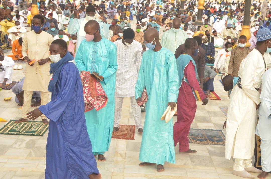 Korité 2020: Les temps forts de la Prière à la Mosquée Massalikoul Djinâne