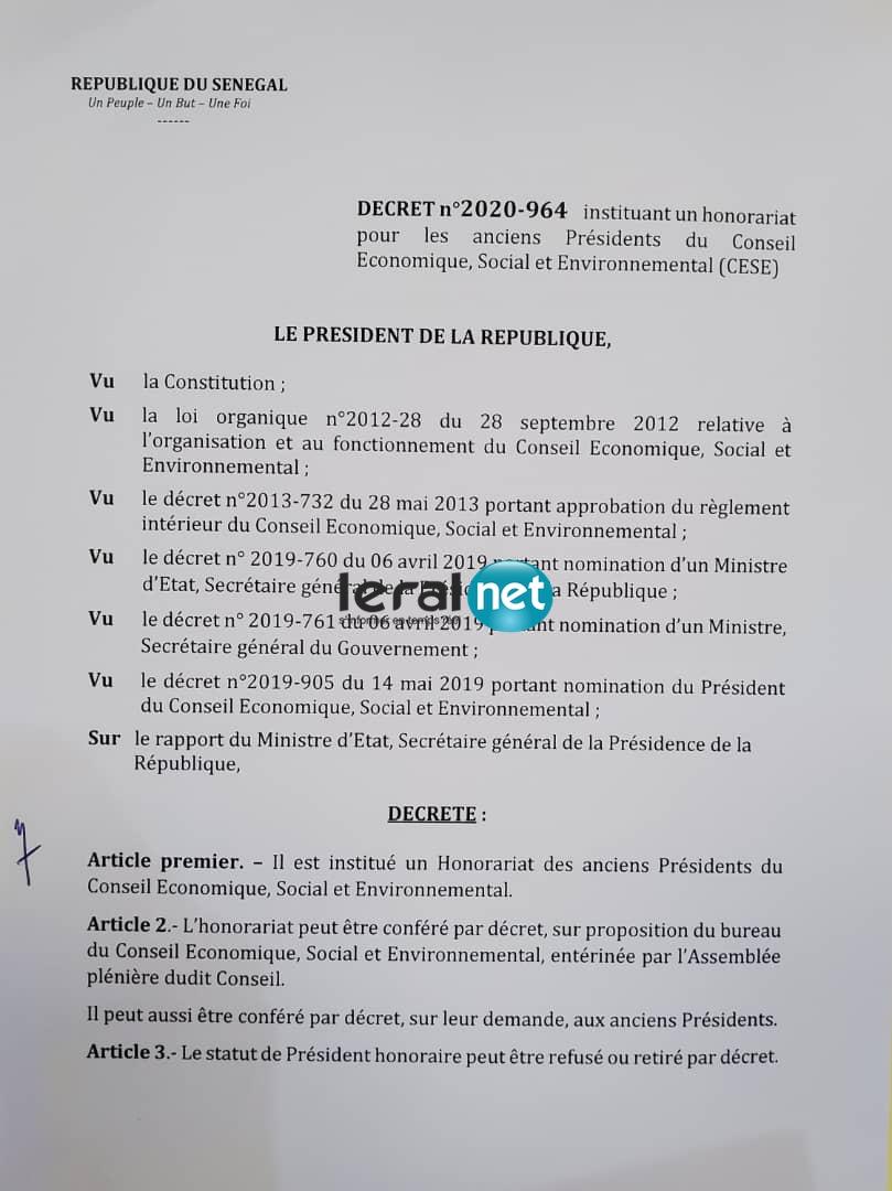 Révélations documentées !!! Yakham Mbaye exhibe l'authentique décret 2020-964, accable Abdoul Mbaye et menace Bassirou Diomaye Faye de Pastef