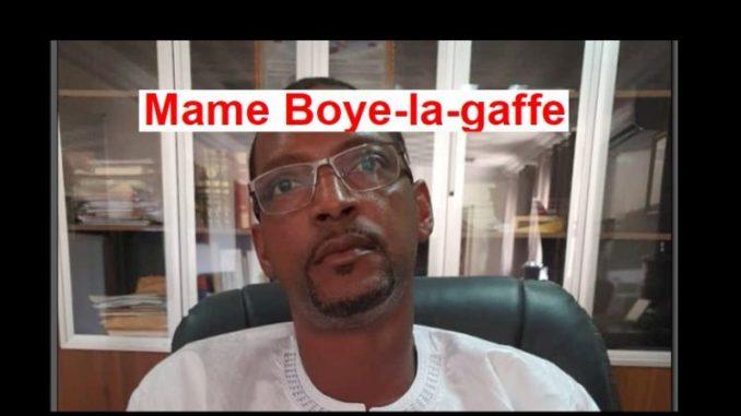 Construction et occupation anarchique du domaine maritime :Le dg des domaines Mame Boye Diao est complice ?