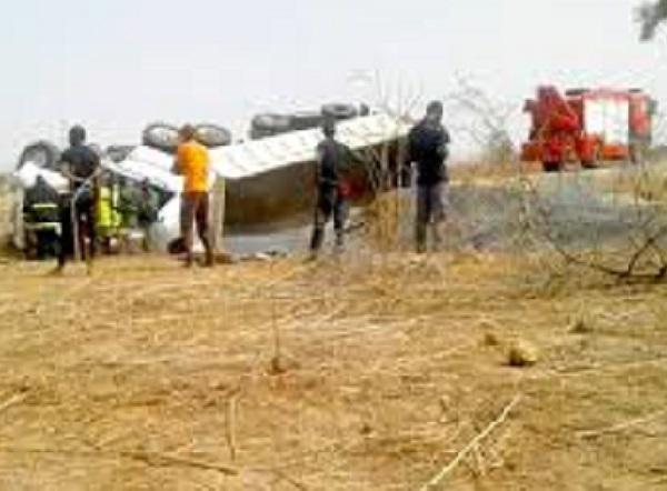 Route de Mbour, Kissane: un chauffeur de camion perd la vie dans un accident