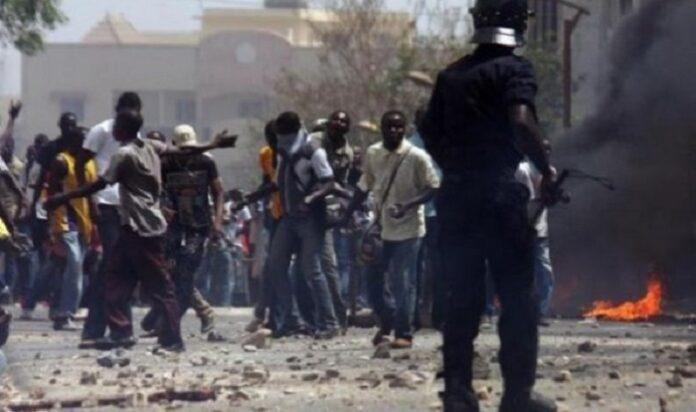 Cap Skirring: Plusieurs blessés lors d'un violent affrontement entre les forces de l'ordre et la population