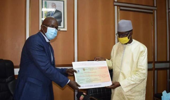 Lutte contre la Covid-19 : La contribution à plusieurs milliards de Francs Cfa d'Aly Ngouille Ndiaye fait le buzz