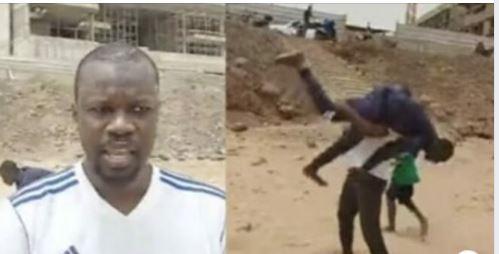 Quand Ousmane Sonko montre ses talents de lutteur à la plage