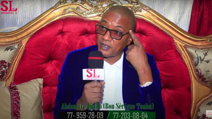 Abdoulaye Diallo Mou Serigne Touba « je traite le diabète,virus dangereux,les autorités que je reçois… »