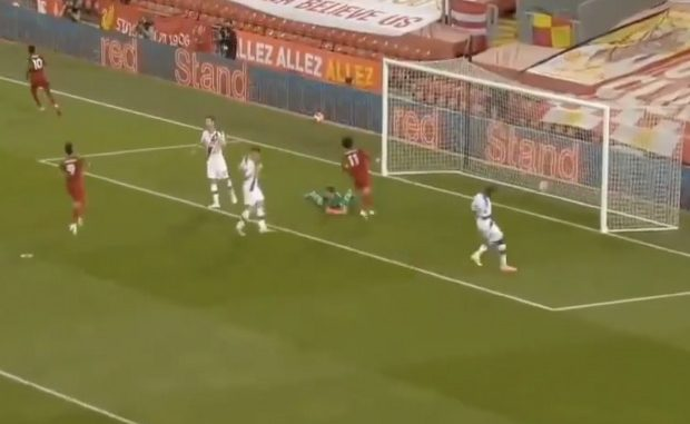 Liverpool Vs Crystal Palace : Regardez le but de Mané sur une superbe passe décisive de Salah