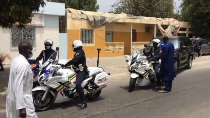 Le convoi funéraire de Serigne Pape Malick Sy quittant l'hôpital Fann, pour Tivaouane (images)