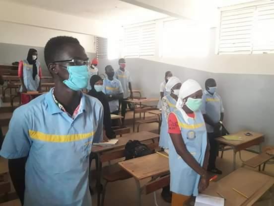 Reprise des cours à Kaolack : Plus de 30 mille candidats ont regagné les salles de classe