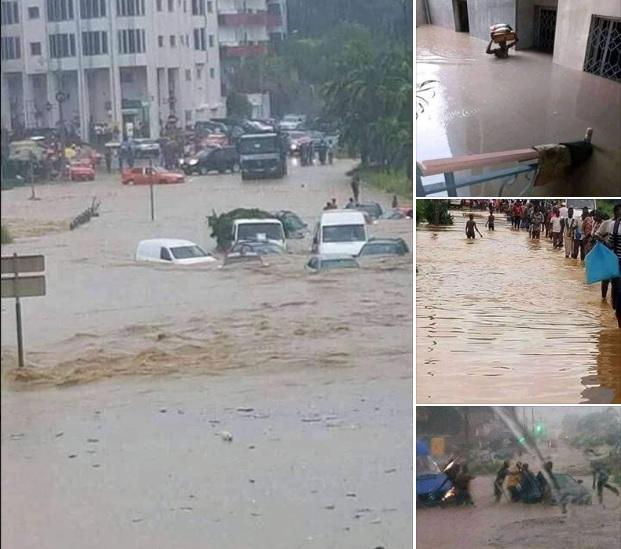 Cote d'Ivoire : Inondation spectaculaire à Abidjan…plusieurs morts et d'importants dégâts matériels
