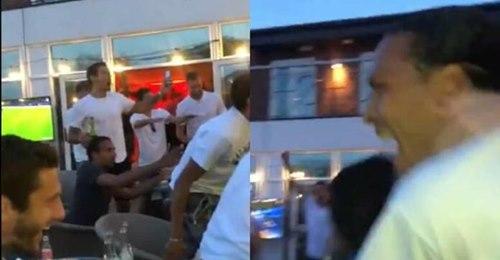 Sadio Mané, Van Dijk, Salah… Scènes de liesse dans l'hôtel des joueurs de Liverpool après le titre