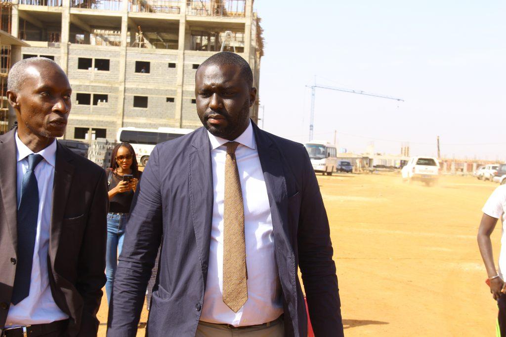 Chantiers aux Mamelles : Abdou Karim Fofana arrête les constructions