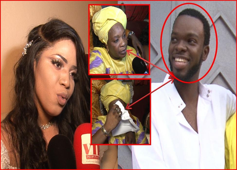 Vidéo mariage à la mosquée de Ndeye Sokhena Sonko et Momo wade