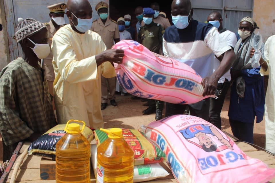 Ndindy : c'est le démarrage de la distribution de l'aide alimentaire