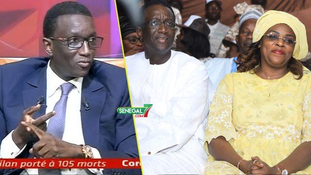 Amadou Ba apporte des précisions: « Li Takh Marieme Faye Sall Dane Nieuw Ci Samay Meeting… »