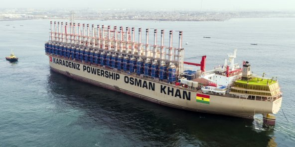 Centrale électrique flottante turque - Une bombe sur l'écologie et la santé des sénégalais