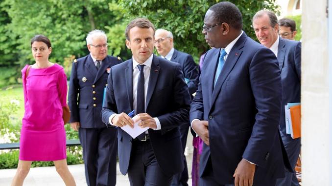 Macky Sall en quarantaine : Macron annule son escale de Dakar