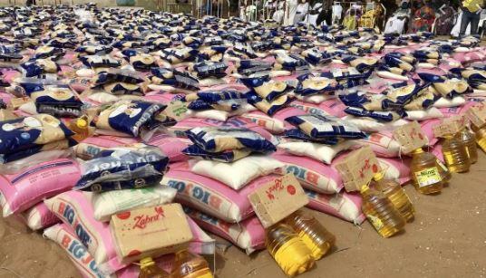 Aide alimentaire : Le riz et l'huile vendus