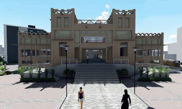 Projet de reconstruction: Voici la nouvelle maquette du marché Sandaga