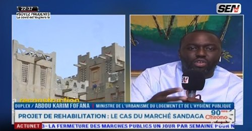 Abdou K Fofana crache ses vérité aux commerçants « Sandaga menetoul continé nii ndax amoul sécurité »