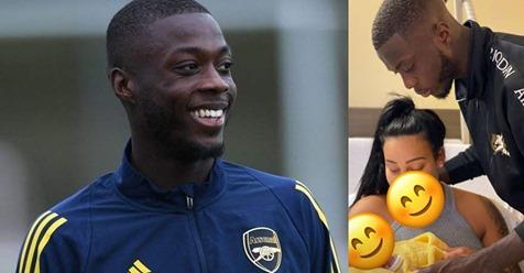 Carnet Rose: Le footballeur ivoirien Nicolas Pépé devient Papa pour la première fois !