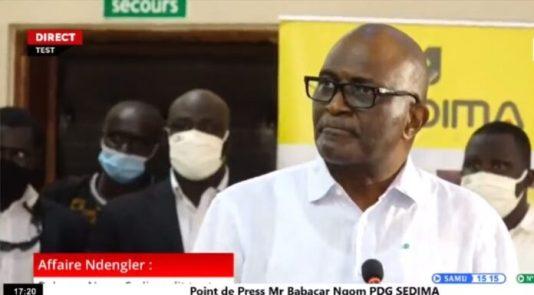 La grosse bourde de Babacar Ngom « Si les sénégalais se chamaillent, c'est parce qu'il y'a trop de pauvres »